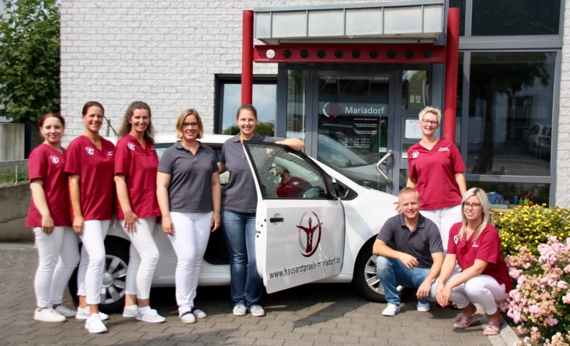 Das Team der Hausarztpraxis Mariadorf